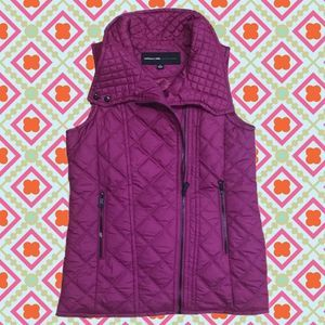 50%OFF Andrew Marc Quilted Light Puffer Vest